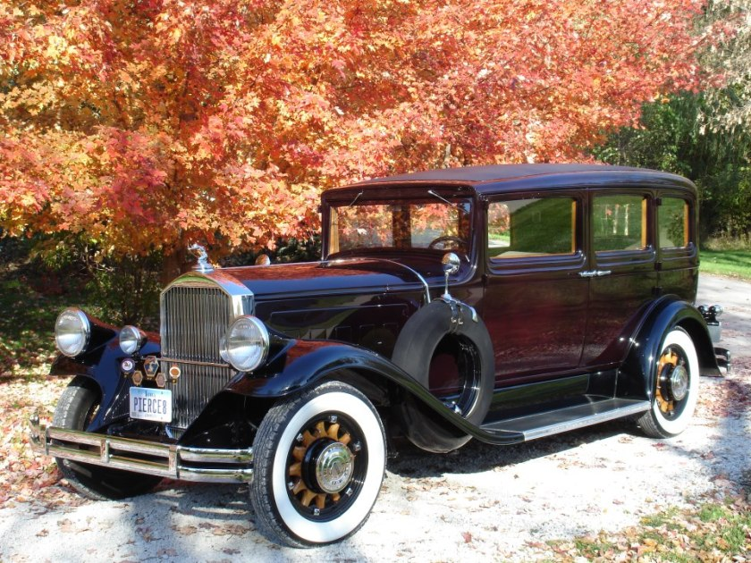 1931 Pierce-Arrow Model 43 7 Passenger Sedan