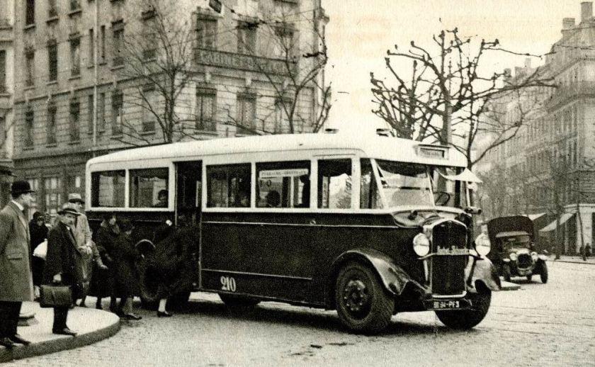 1931 Rochet Schneider Autobus