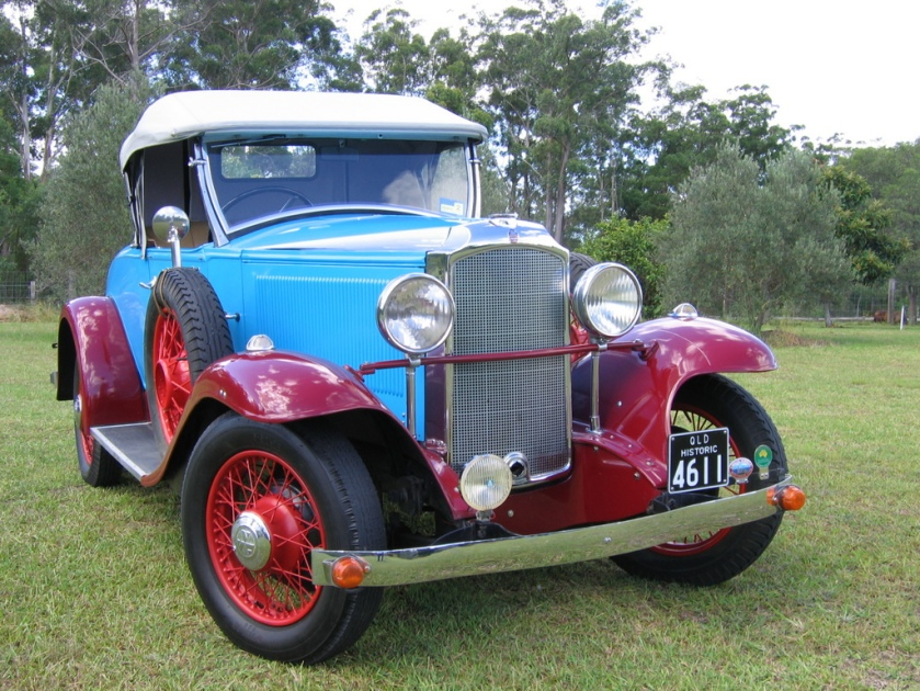 1931 Vauxhall Cadet Roadster