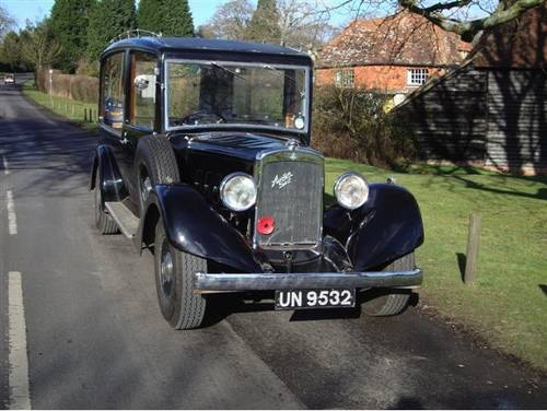 1932 Austin 20hp hearse SOLD