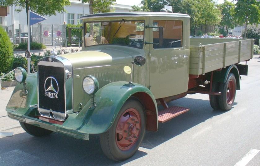 1932 Mercedes-Benz-Lastkraftwagen von 1932