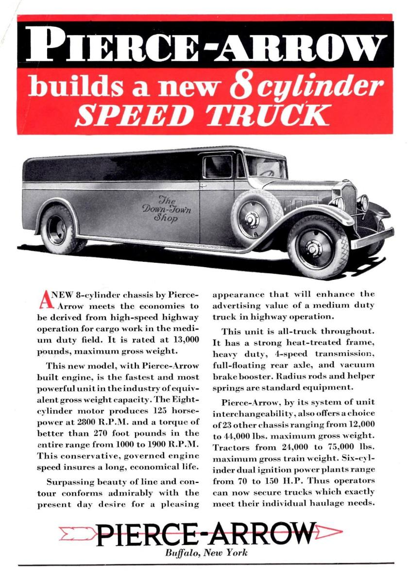 1932 Pierce-Arrow Delivery Van