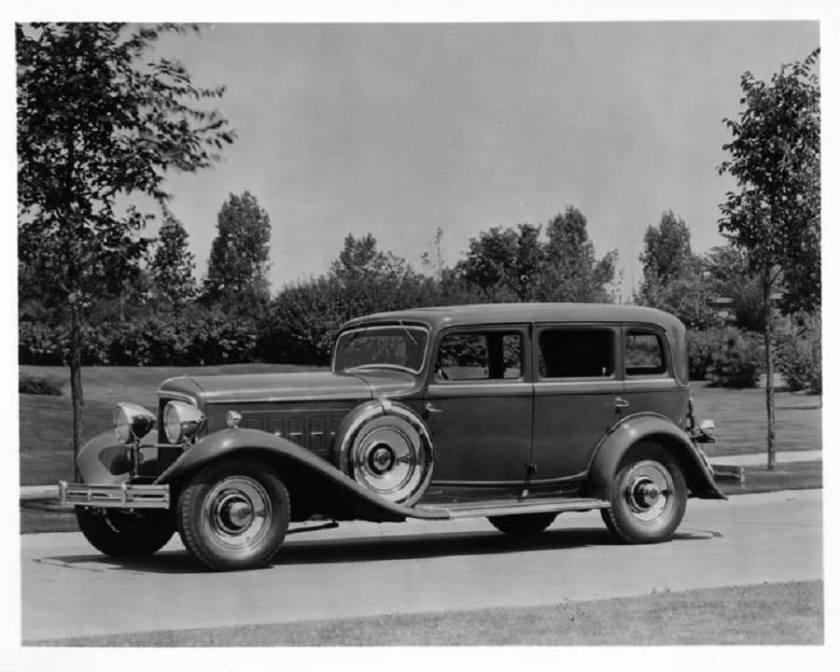 1932 REO modelo Royale 4d