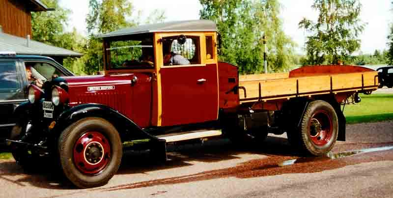 1933 Bedford WLB Lastbil