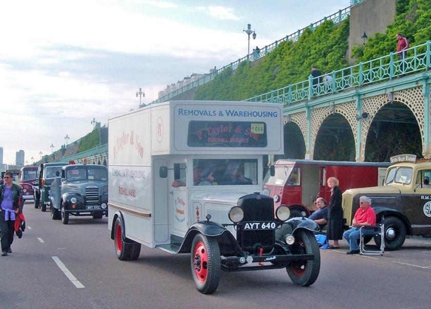 1933 Bedford WLG Two-Ton reg AYT640