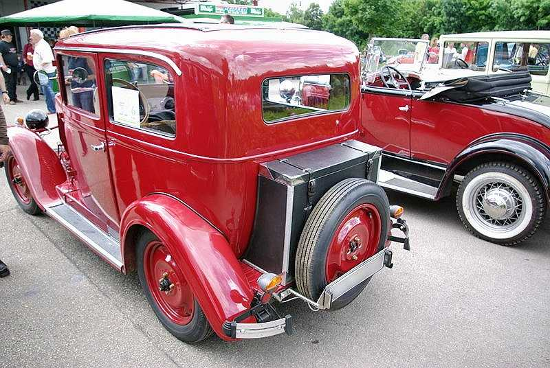 1933 Hanomag 4-23 rear