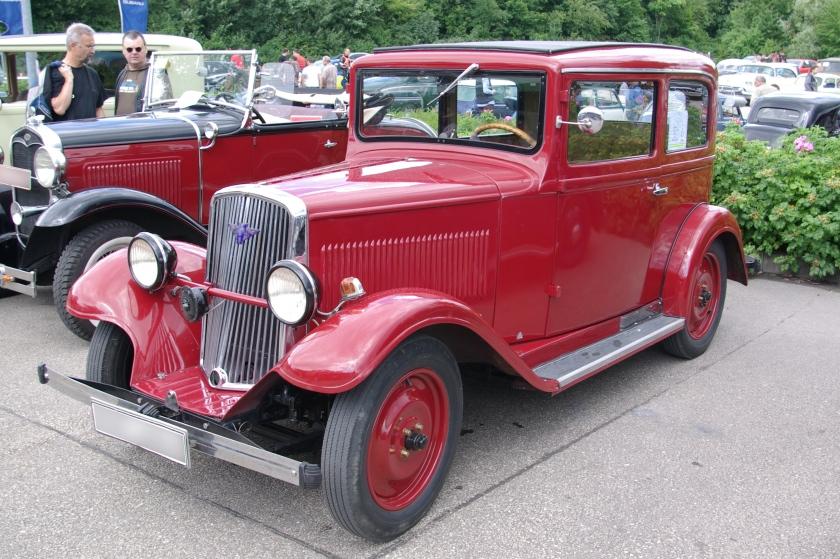 1933 Hanomag 4strich23 BW