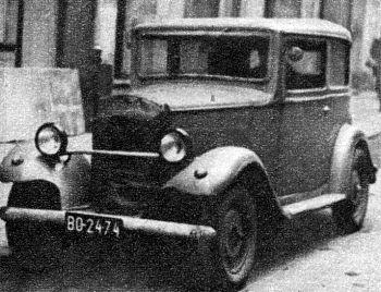 1933 Hanomag  kurier