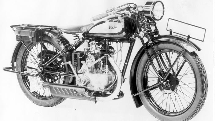 1933 NSU 201 TS Motorrad