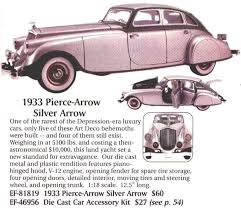 1933 Pierce Arrow ad