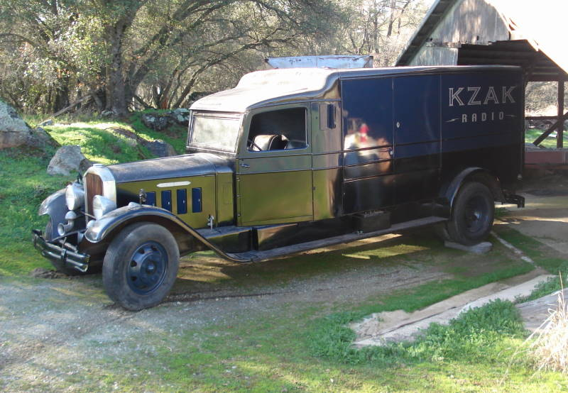 1933 Pierce Arrow Panel Truck