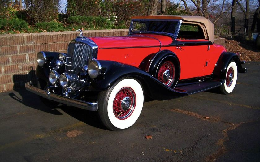 1933 Pierce Arrow V-12