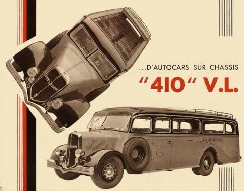 1934-35 Rochet Schneider Autocars 410 VL