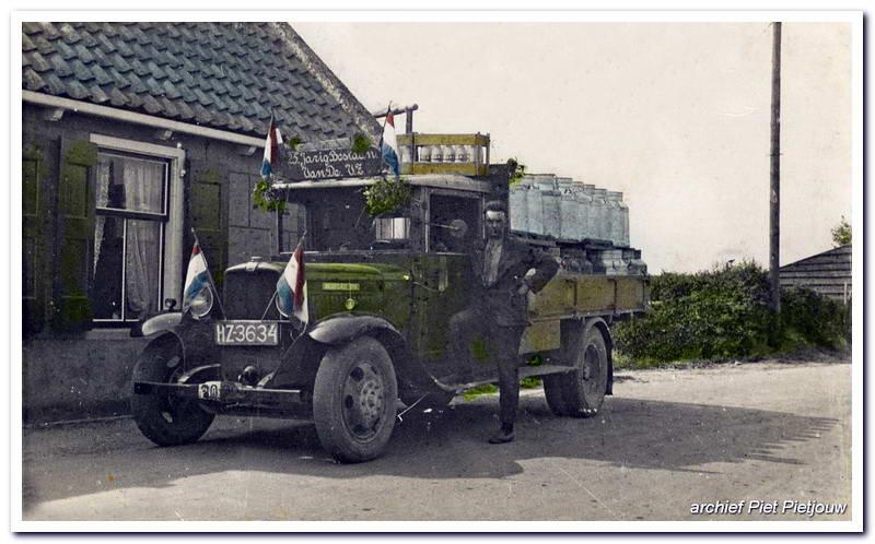 1934 Bedford HZ-3634 Lagemaat