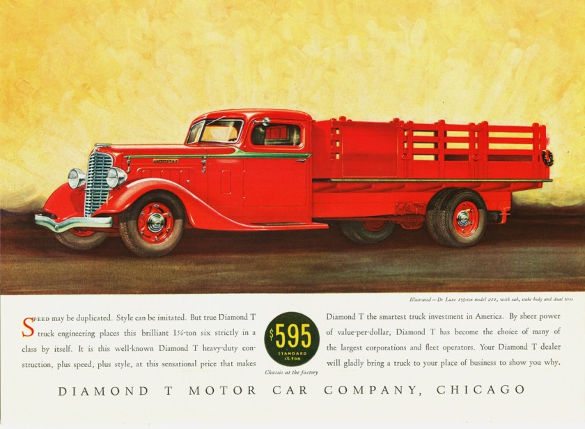 1934 Diamond T De Luxe Model 211 Stake Truck