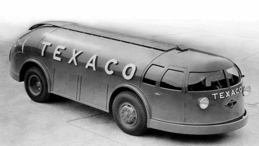 1934 Diamond T Doodlebug tanker