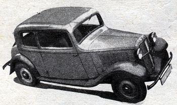 1934 Hanomag kurier