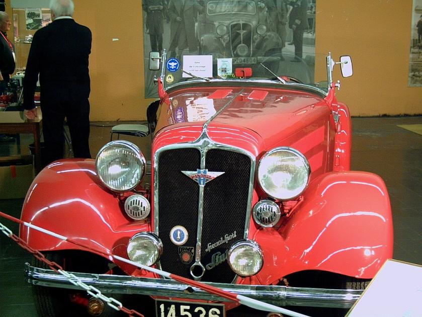 1934 Hanomag Special Sport Hano