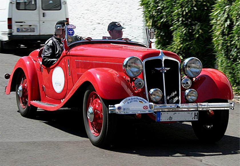 1934 Hanomag Sturm Cabrio