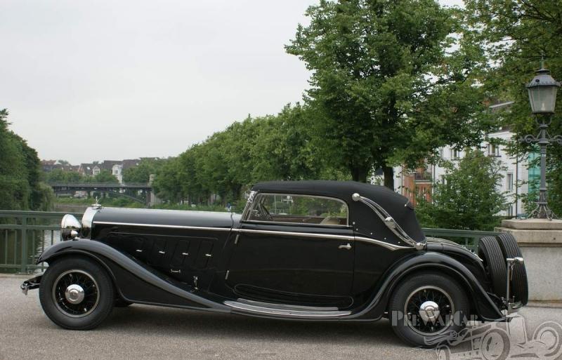 1934 Mercedes-Benz 500 Nürburg Cabriolet D