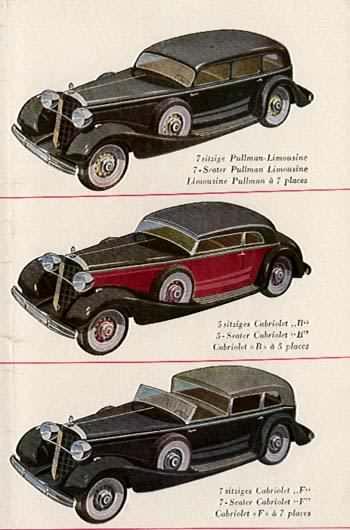 1934 Mercedes Benz 770