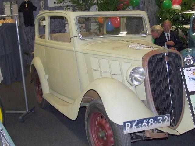 1934 NSU-Fiat Weinsberg cabriolet RK-68-32