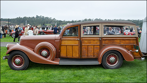1934 Pierce-Arrow 836A Cantrell Station Wagon