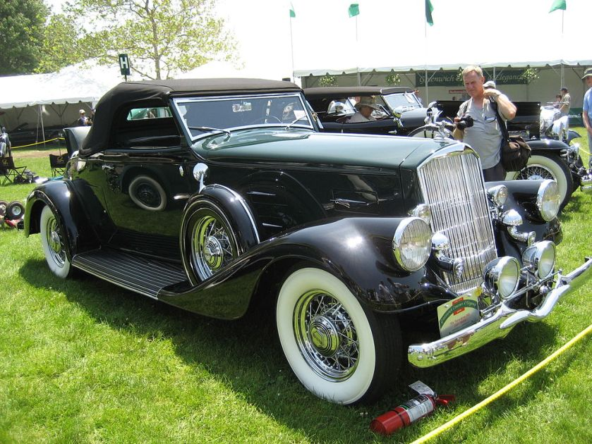 1934 Pierce-Arrow 840A Convertible