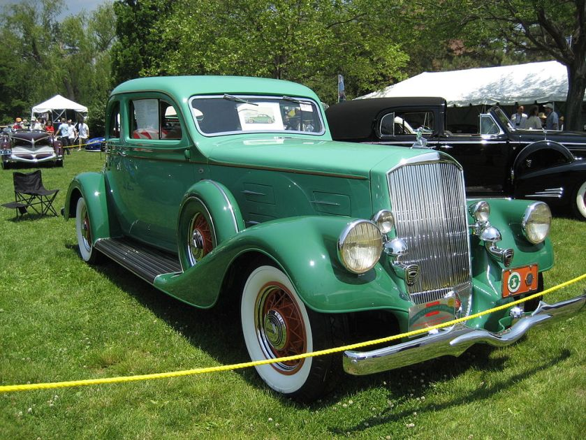 1934 Pierce-Arrow 840A Coupe