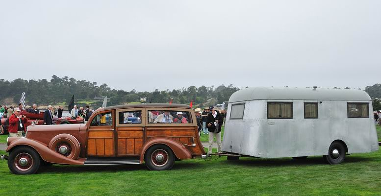 1934 Pierce Arrow + Travelodge