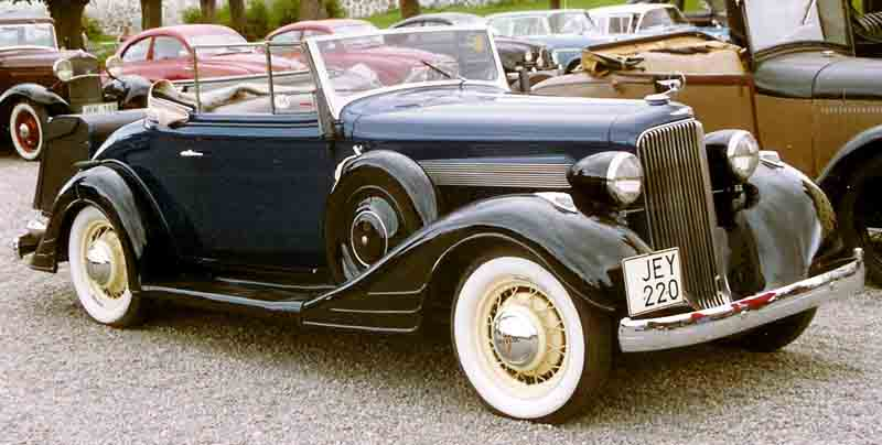 1934 Pontiac Series 603 34318 Convertible Coupé