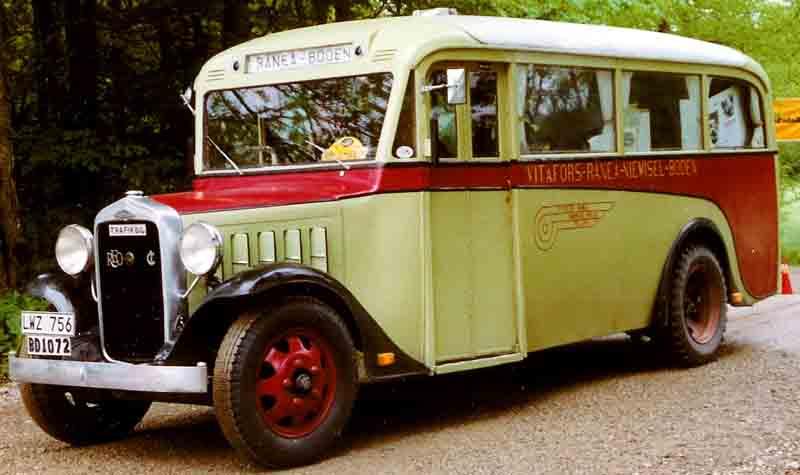 1934 REO Bus