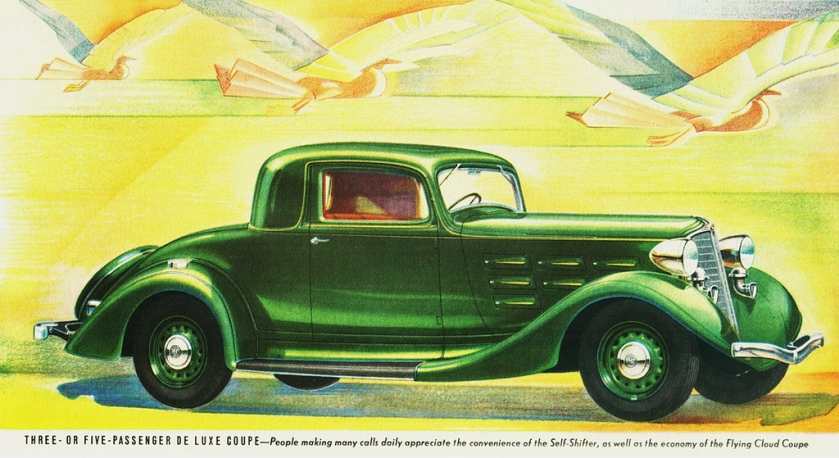 1934 Reo Flying Cloud Three or Five-Passenger De Luxe Coupe