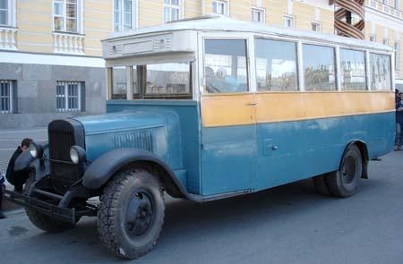 1934 ZIS-8 bus 21 s