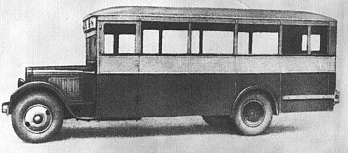 1934 ZiS-8 city bus