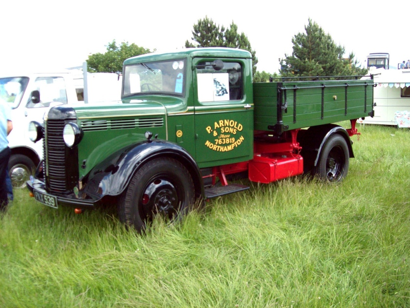 1935 Bedford WHG 3 way Tipper Engine 2800cc 6 cylinder OHV