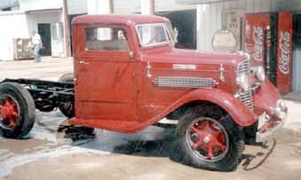 1935 Diamond t 6cyl short wb