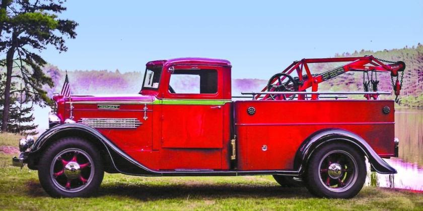 1935 Diamond T Model 211