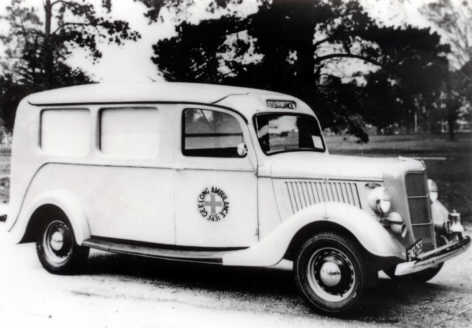 1935 Ford Geelong Ambulance