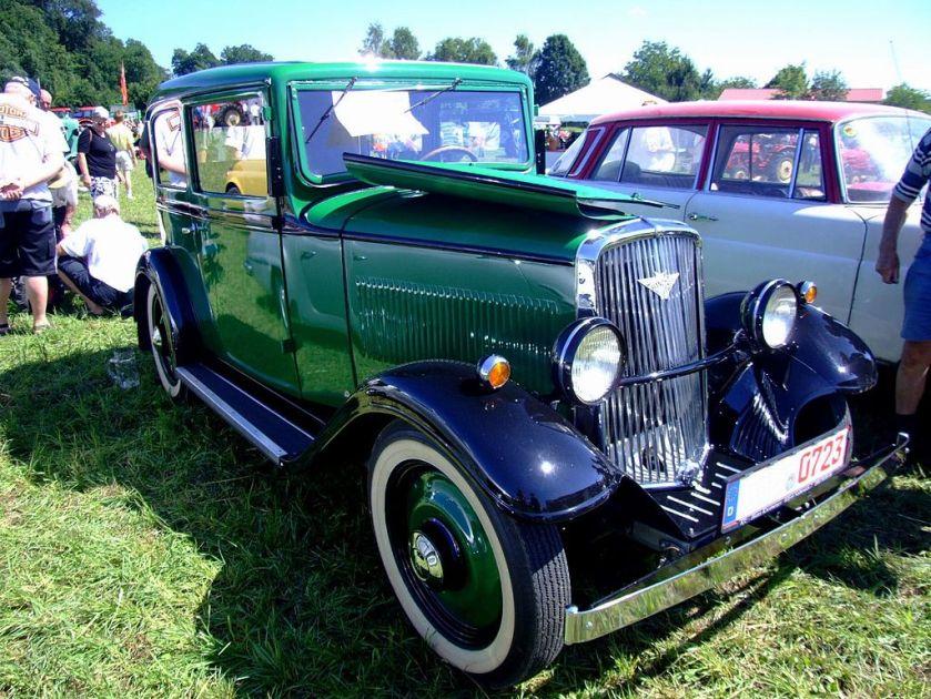 1935 Hanomag Kurier 1089ccm23PS