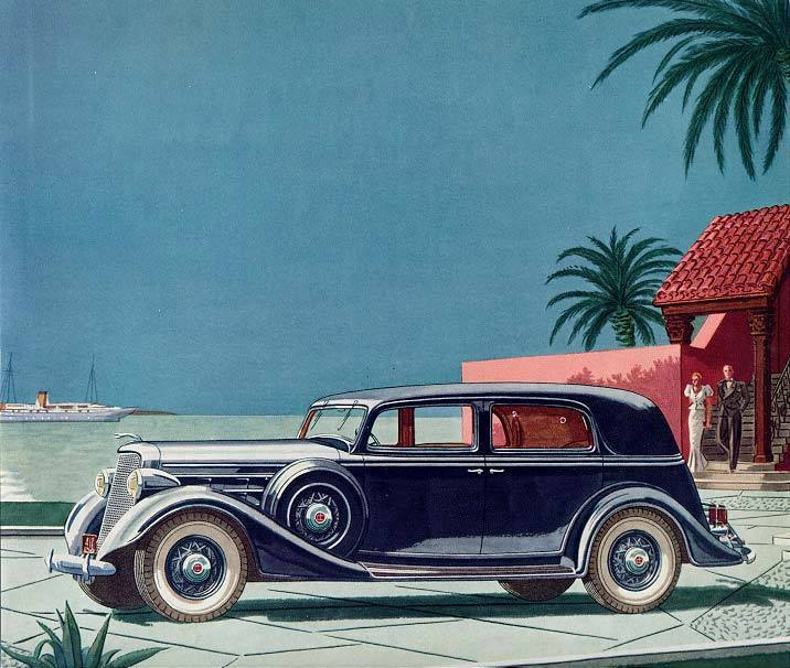 1935 Lincoln Five Passenger Two Window Sedan