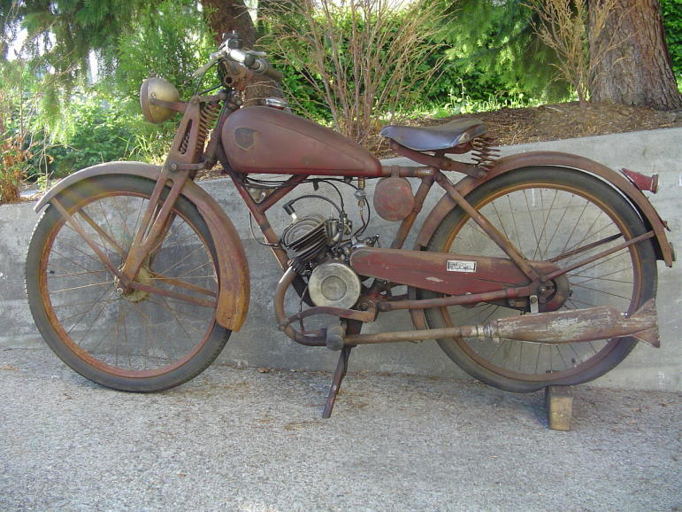 1935 NSU Quick 98cc