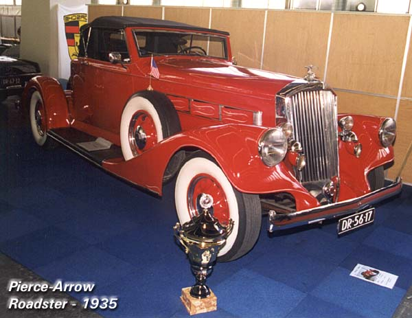 1935 Pierce Arrow Roadster