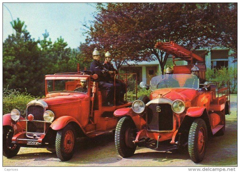 1935 Rochet Schneider sapeur pompiers