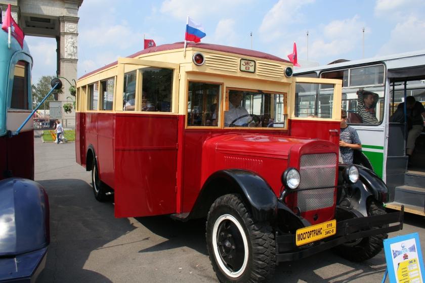 1935 ZiS-8 Moskou