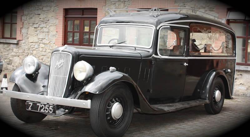 1936 Austin hearse