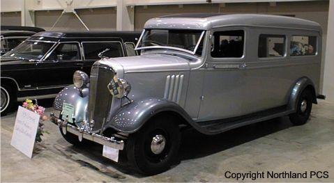 1936 Chevrolet hearse
