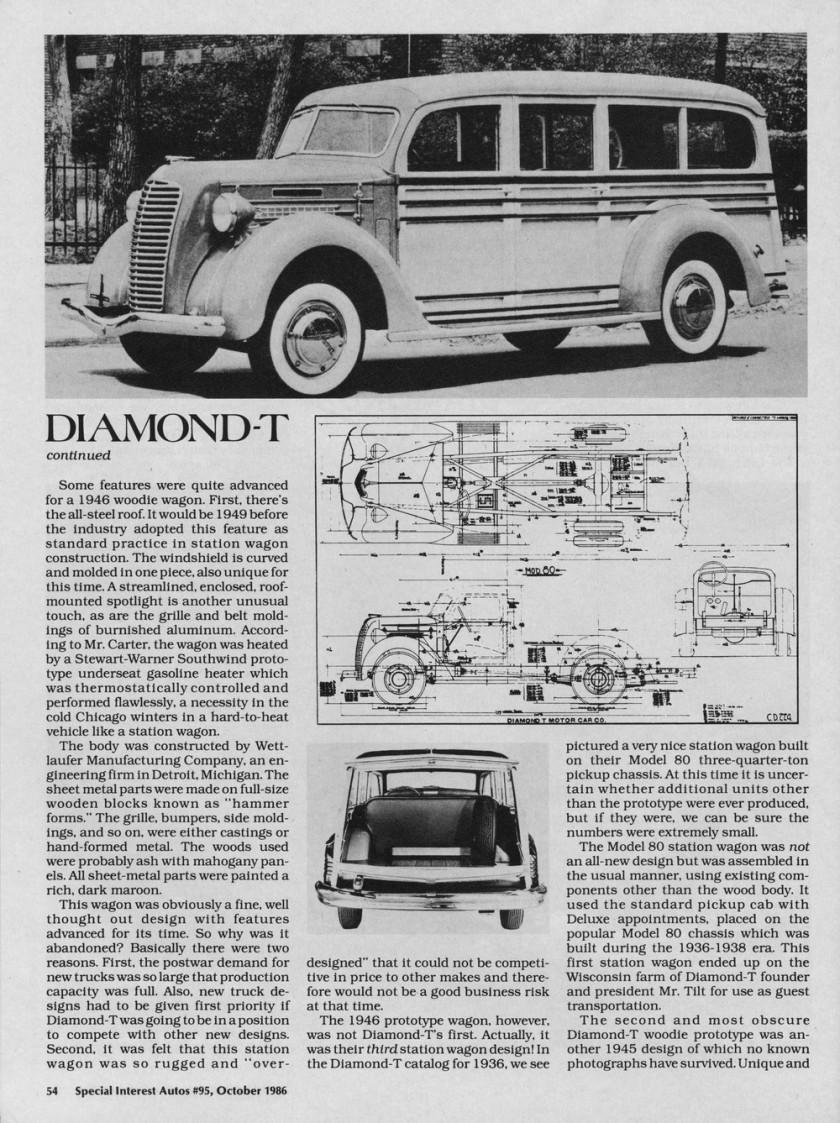 1936 Diamond T 80 Deluxe model 80a