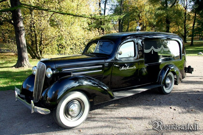 1936 Finnish Chevrolet hearse