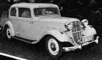1936 Hanomag rekord